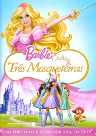 Barbie e as Três Mosqueteiras - Poster / Capa / Cartaz - Oficial 1