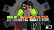 Ben 10/Mutante Rex: Heróis Unidos - Poster / Capa / Cartaz - Oficial 1