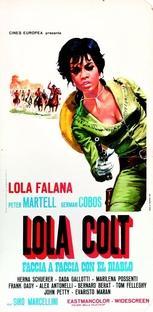 Lola Colt - Poster / Capa / Cartaz - Oficial 1