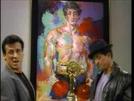 Stallone encontra Rocky (Stallone meets Rocky)