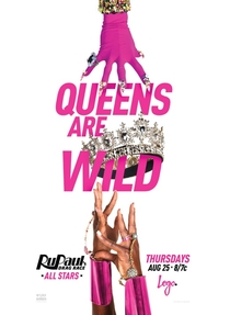 RuPaul's Drag Race: All Stars (2° Temporada) - Poster / Capa / Cartaz - Oficial 3