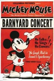 The Barnyard Concert - Poster / Capa / Cartaz - Oficial 1