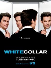 White Collar (3ª Temporada) - Poster / Capa / Cartaz - Oficial 2