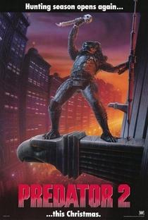 Predador 2 - A Caçada Continua - Poster / Capa / Cartaz - Oficial 1