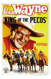 O Rei do Rio Pecos - Poster / Capa / Cartaz - Oficial 1