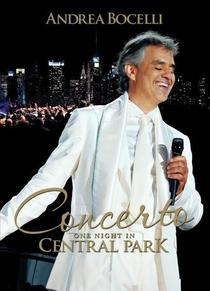 Andrea Bocelli: Uma Noite no Central Park - Poster / Capa / Cartaz - Oficial 1