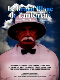 The great white man of Lambarene - Poster / Capa / Cartaz - Oficial 2