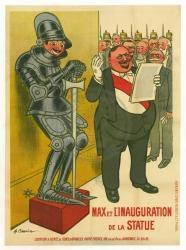 Max et la statue - Poster / Capa / Cartaz - Oficial 1
