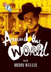 Volta ao Mundo Com Orson Welles - Poster / Capa / Cartaz - Oficial 1