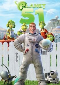 Planeta 51 - Poster / Capa / Cartaz - Oficial 8