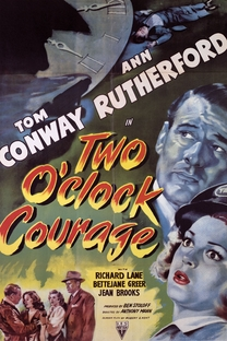 Two O'clock Courage - Poster / Capa / Cartaz - Oficial 1
