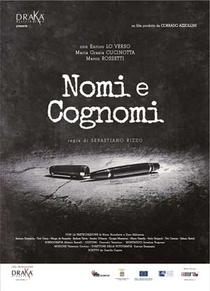 Nomi e Cognomi - Poster / Capa / Cartaz - Oficial 1