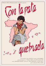 Con La Pata Quebrada - Poster / Capa / Cartaz - Oficial 1