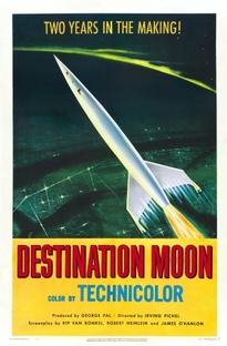 Destino à Lua - Poster / Capa / Cartaz - Oficial 1
