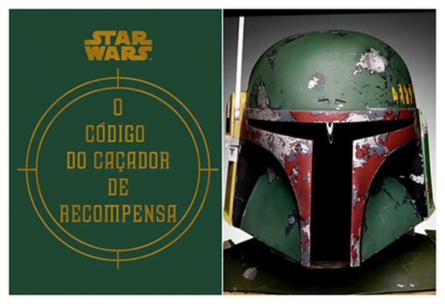 """Star Wars: """"O Código do Caçador de Recompensa"""" livro escrito por Boba Fett, já está em pré-venda"""