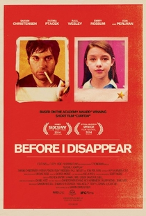 Before I Disappear - Poster / Capa / Cartaz - Oficial 1