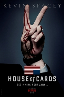 House of Cards (1ª Temporada) - Poster / Capa / Cartaz - Oficial 2