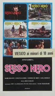 Sesso Nero - Poster / Capa / Cartaz - Oficial 2