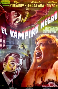 O Vampiro Negro - Poster / Capa / Cartaz - Oficial 1