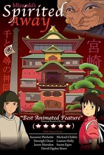 A Viagem de Chihiro - Poster / Capa / Cartaz - Oficial 8