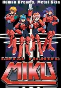 Metal Fighter Miku - Poster / Capa / Cartaz - Oficial 1