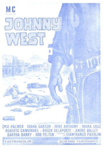 Johnny West, O Canhoto - Poster / Capa / Cartaz - Oficial 4