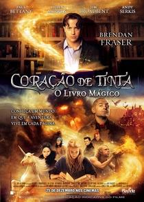 Coração de Tinta - O Livro Mágico - Poster / Capa / Cartaz - Oficial 2