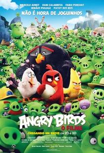 Angry Birds: O Filme - Poster / Capa / Cartaz - Oficial 1