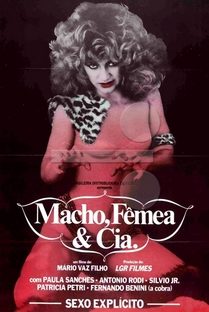 Macho, Fêmea & Cia. (A Vida Erótica de Caim e Abel) - Poster / Capa / Cartaz - Oficial 1