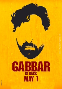 Gabbar is Back - Poster / Capa / Cartaz - Oficial 4
