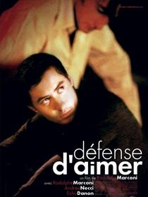 Défense d'aimer - Poster / Capa / Cartaz - Oficial 1