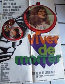 Viver de Morrer - Poster / Capa / Cartaz - Oficial 1