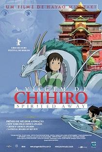 A Viagem de Chihiro - Poster / Capa / Cartaz - Oficial 3