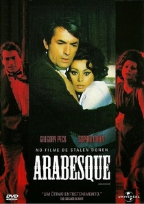 Arabesque - Poster / Capa / Cartaz - Oficial 6