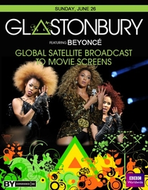 Beyoncé - Live on Glastonbury - Poster / Capa / Cartaz - Oficial 1