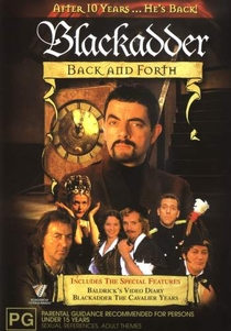 Blackadder Back & Forth - Poster / Capa / Cartaz - Oficial 1