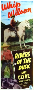 Riders of The Dusk - Poster / Capa / Cartaz - Oficial 1