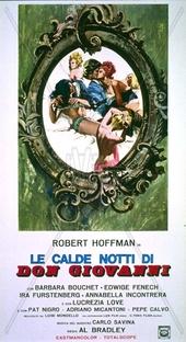 Le Calde Notti di Don Giovanni - Poster / Capa / Cartaz - Oficial 2
