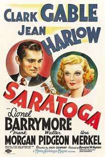 Saratoga - Poster / Capa / Cartaz - Oficial 3