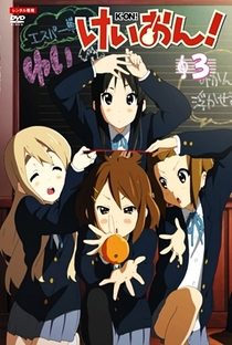 K-On! (1ª Temporada) - Poster / Capa / Cartaz - Oficial 12