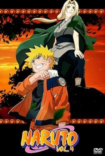 Naruto (4ª Temporada) - Poster / Capa / Cartaz - Oficial 1