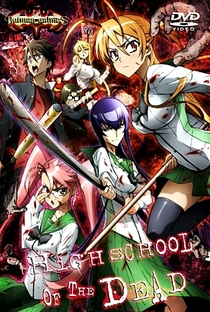 Highschool of the Dead - Poster / Capa / Cartaz - Oficial 35
