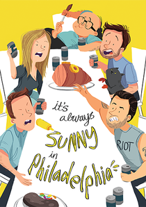 It's Always Sunny in Philadelphia (14ª Temporada) - Poster / Capa / Cartaz - Oficial 1