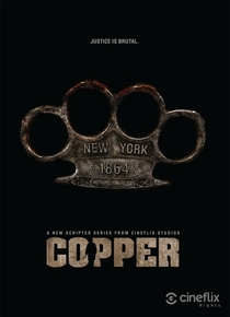 Copper (1ª Temporada) - Poster / Capa / Cartaz - Oficial 2