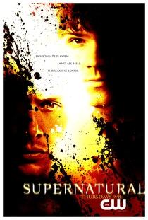 Sobrenatural (2ª Temporada) - Poster / Capa / Cartaz - Oficial 2