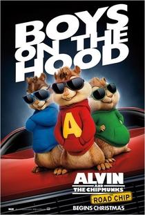 Alvin e os Esquilos: Na Estrada - Poster / Capa / Cartaz - Oficial 6