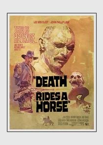A Morte Anda a Cavalo - Poster / Capa / Cartaz - Oficial 10