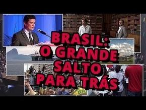 Brasil  O Grande Salto Para Trás - Poster   Capa   Cartaz - Oficial 1 ... 25b08974bf