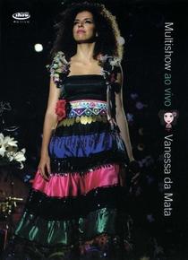 Vanessa da Mata - Multishow Ao Vivo - Poster / Capa / Cartaz - Oficial 1