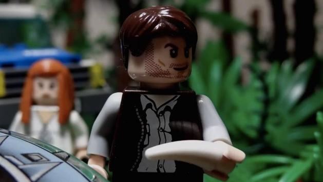 Jurassic World ganha trailer feito em LEGO